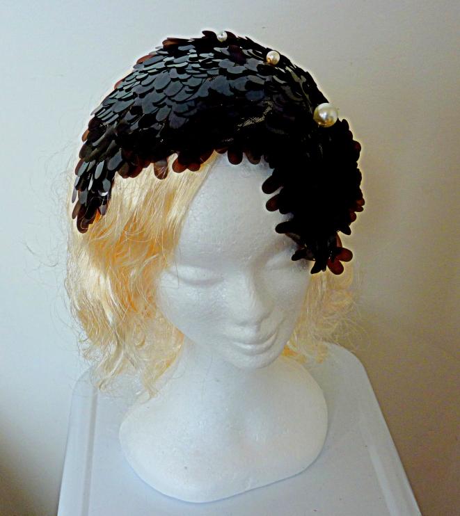 1920's sequined headpiece SALE $175 US