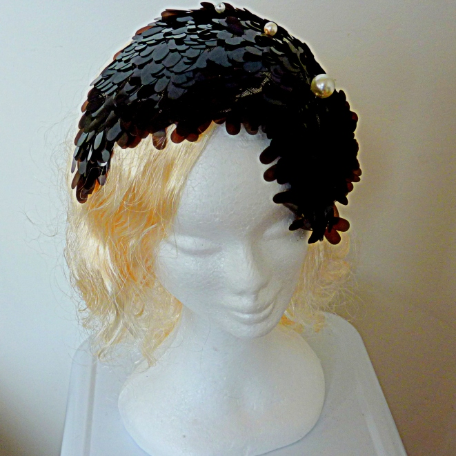 1920's sequined headpiece SALE $175 US